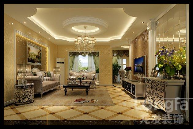 半岛城邦170平米房子现代欧式风格装修图片 成都最好装修