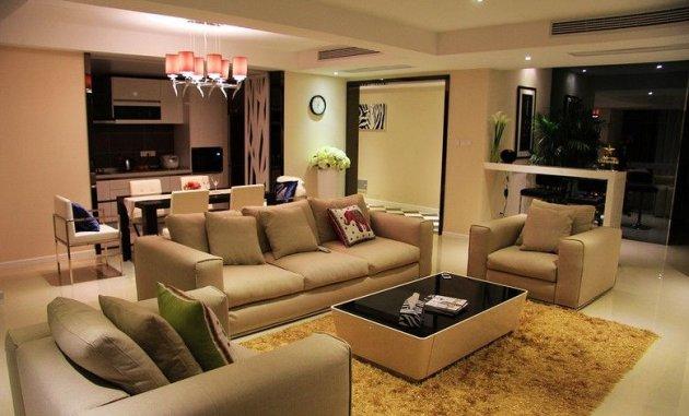 二十四城200平米房子现代风格装修效果图 成都最好装修施
