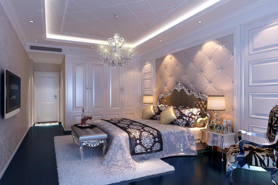 成都首创国际120平米房子欧风格装修设计案例