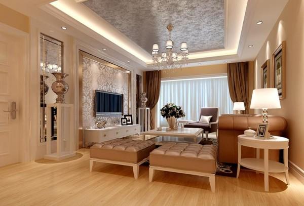 成都天朗锦邸装修,天朗锦邸90平米房子装修设计效果图