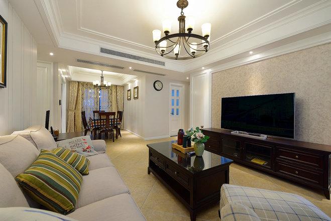 成都英伦联邦170平米房子混搭风格装修设计案例
